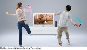 Motion Sensor & Neuro-Gaming Technology